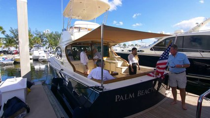 Poetry in Motion: Palm Beach 50 Flybridge