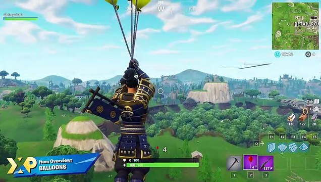 Fortnite: Battle Royale Items - Balloons