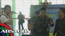 UKG: Bamboo, kumanta kasama ang mga pulis sa Davao City