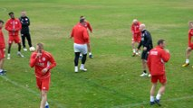 Vidéo 2 entraînement Slavia Prague au Pian-Médoc