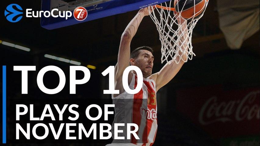 7DAYS EuroCup, Top 10 Plays of November!