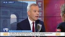 """""""Je ne suis pas favorable"""" à moratoire sur la hausse des taxes sur le carburant, déclare François de Rugy"""