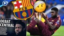 La blessure de Samuel Umtiti pose question au FC Barcelone, la finale River-Boca à Bernabeu excite l'Espagne