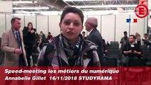 Speed-meeting métiers du numérique - Annabelle GILLET