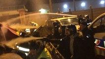 Gilets jaunes: affrontements avec la police