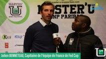 Master'U BNP Paribas 2018 - Julien Benneteau parrain de choix de la 13e édition à Grenoble du  Master'U BNP Paribas