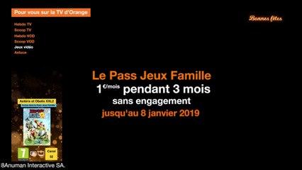 Actu du Pass Jeux Famille décembre 2018