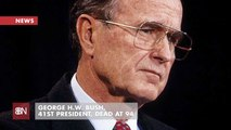 41st President George H.W. Bush Is Praised By President Trump