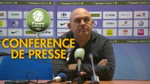 Conférence de presse Grenoble Foot 38 - FC Metz (1-1) : Philippe  HINSCHBERGER (GF38) - Frédéric  ANTONETTI (FCM) - 2018/2019