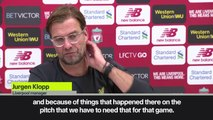Eng Sub: Liverpool need 'no extra motivation' for Merseyside derby after PSG defeat, says Klopp