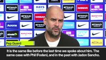 Eng Sub: Guardiola on Diaz rumours as Real Madrid circle