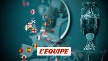 Le tirage au sort des éliminatoires pour les nuls - Foot - Euro 2020