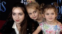 "Kaitlin, Mila & Emma Stauffer ""Mary Poppins Returns"" World Premiere Red Carpet"