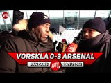 Vorskla 0-3 Arsenal | We Played A U21 Side But The Unbeaten Run Continues!