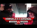 Vorskla 0-3 Arsenal | I Fancy Our Chances Against Tottenham!