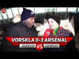 Vorskla 0-3 Arsenal | I Was Hoping To See Ozil & Aubameyang But The Kids Did Well!