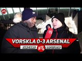Vorskla 0-3 Arsenal | It Worked Out Better To Play The Game In Kiev! (Ukrainian Gooner)