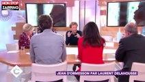 C à vous : Laurent Delahousse rend hommage à Jean d'Ormesson (vidéo)