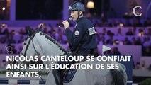 Nicolas Canteloup fier de sa fille Anouk, reine de l'équitation