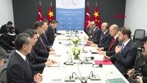 Cumhurbaşkanı Erdoğan, G20 Liderler Zirvesi'nde Çin Devlet Başkanı Sı Cınpıng ile Görüştü