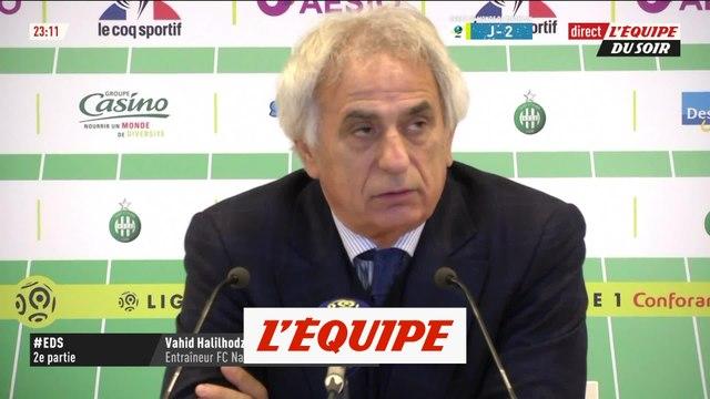 Halilhodzic «Je ne reconnais pas mon équipe» - Foot - L1 - Nantes