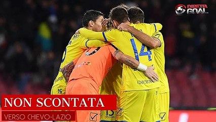 Serie A, domenica alle 18 Chievo-Lazio