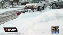 Snow forces closure of Flagstaff schools