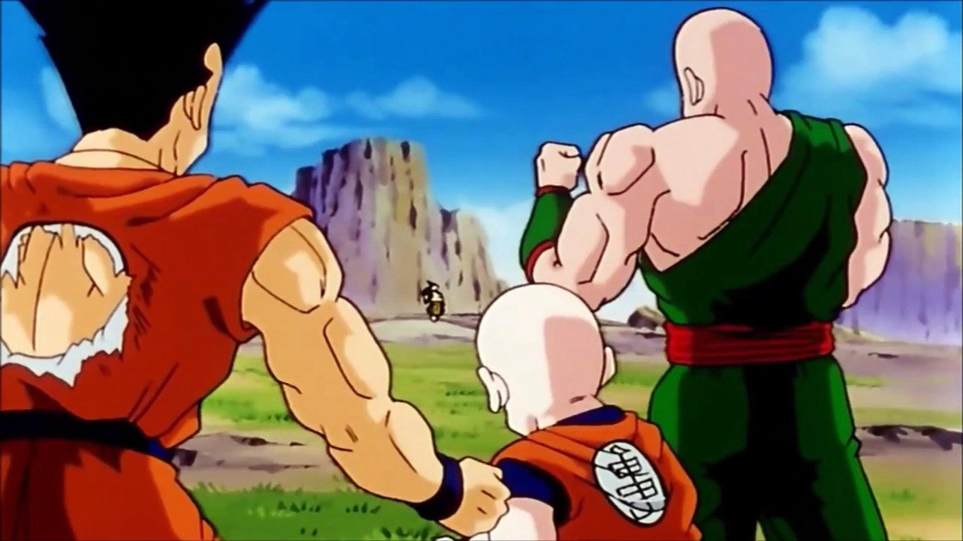 Goku Vs Android 19 Full Fight Vegeta Turns Super Saiyan For The