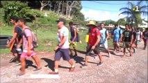 TH : Les lycéens de Raiatea marchent pour leur santé