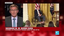 FRANCE 24's Philip Crowther looks back on George HW Bush's legacy
