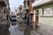 Damadına Ateş Etti Su Borusunu Vurdu, Sokağı Su Bastı