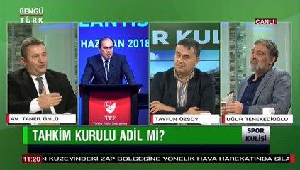 SPOR KULİSİ 30 KASIM 2018 KONUK-TANER ÜNLÜ