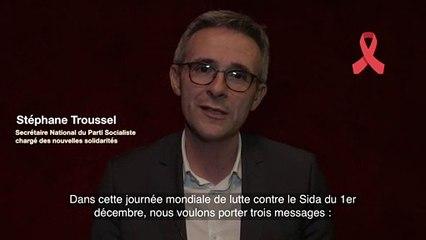 Le PS est mobilisé aux côtés des acteurs de la lutte contre le sida / Stéphane Troussel - 2/5