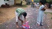 Worlds Biggest FireCrackers Battle - Happy Diwali 100 Million wala crackers fireworks - Local Brand
