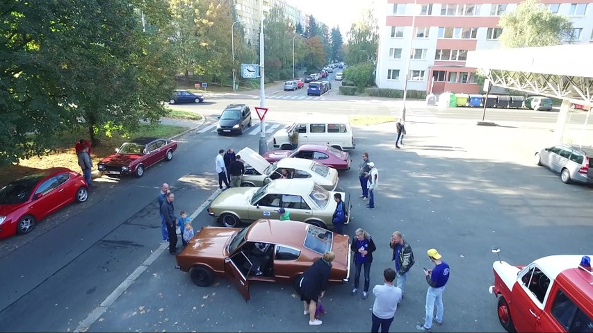 2018 Zaviracka Ford Klub CI5 - dron