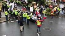 Passage des motards de la Rando du Père Noël
