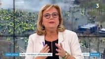 """""""Gilets jaunes"""" : 1 500 casseurs selon le ministère de l'Intérieur"""