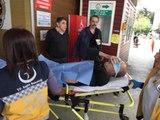 Tuvalete Giderken Belindeki Silah Ateş Aldı, Kalçasından Yaralandı