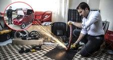 Hurda Parçalarından Güneş Enerjisi ve Elektrikle Çalışan Otomobil Yaptı