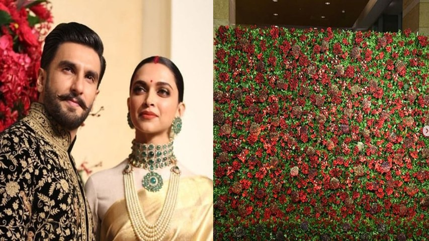 Deepika Padukone & Ranveer Singh all set for Third Reception with Red Decoration | Boldsky