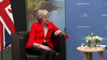 Theresa May meets Australian and Japanese PM at G20 Summit