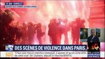 """Violences à Paris: pour Laurent Wauquiez, le gouvernement """"a poussé à cette colère"""""""