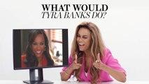 """Tyra Banks Plays """"What Would Tyra Banks Do?"""""""