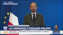 Édouard Philippe suspend pour 6 mois trois mesures fiscales qui devaient entrer en vigueur le 1er janvier
