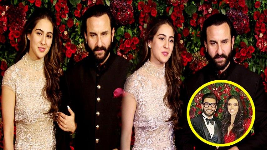 Deepika और Ranveer के Reception में Sara Ali Khan इस अंदाज में पहुंची; Watch Video | Boldsky