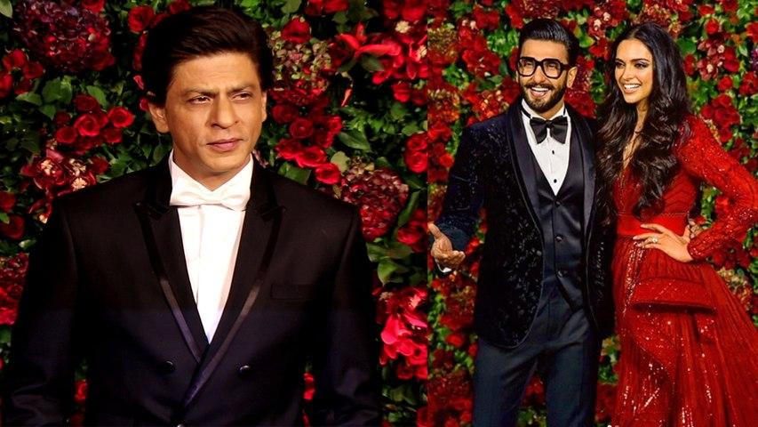 Deepika & Ranveer Reception: Shahrukh Khan steals limelight in Deepveer's Party | Boldsky