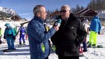 Hautes-Alpes: beaucoup de monde et un temps magnifique pour l'ouverture de la saison à Montgenèvre ce samedi
