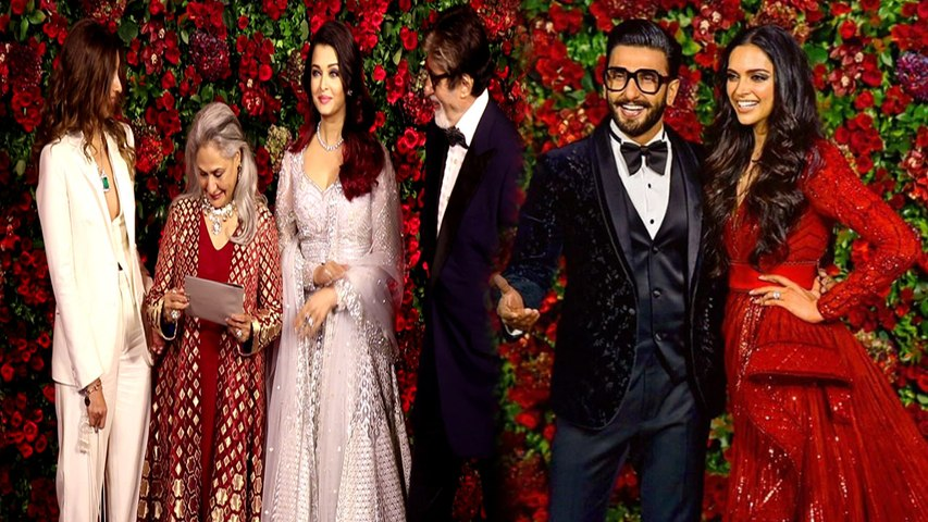 Aishwarya Rai Bachchan & Shweta Bachchan Nanda together at Deepika - Ranveer Reception | Boldsky