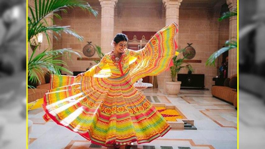 Priyanka Chopra ने मेंहदी सेरेमनी में पहना ऐसा लंहगा, जानिए खासियत | Boldsky