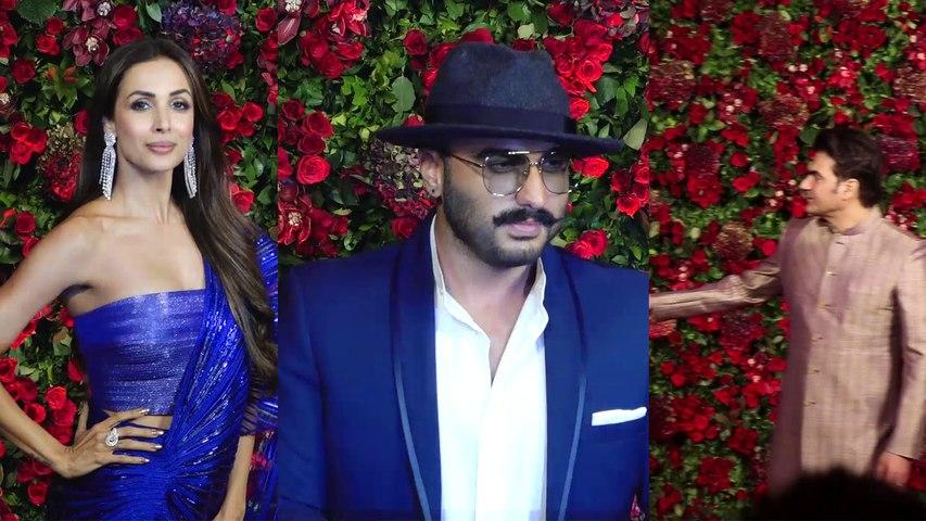 Deepika और Ranveer के Reception में Arjun Kapoor का Arbaaz Khan से हुआ सामना | Boldsky